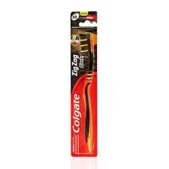 Colgate Zigzag Black Toothbrush - Medium, 1 pc