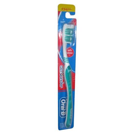 Oral-B Tooth Brush - All Rounder Cavity Defense 123 (Soft), 1 pc
