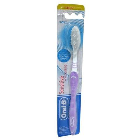 Oral-B Tooth Brush Sensitive - Whitening Soft, 1 pc