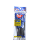 Linc Twin Ball Pen + Pencil Pack of 5 Blue 1 pc