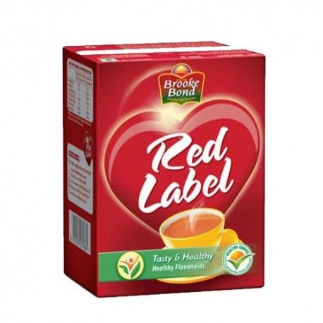 Red Label Tea Carton