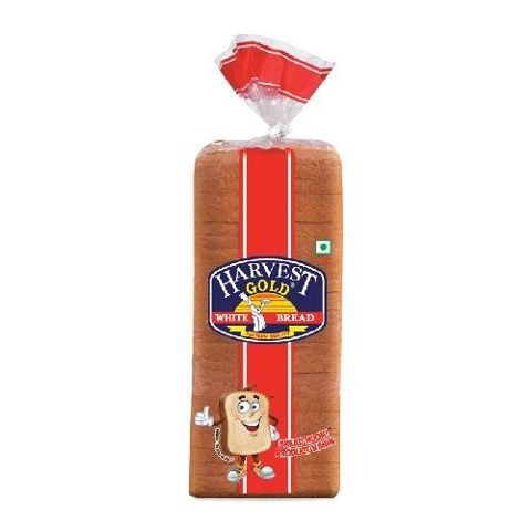 Harvest Gold Bread - White, 700 gm Pouch
