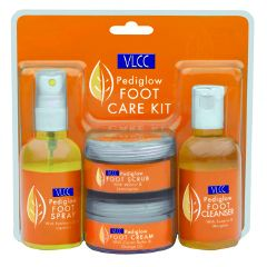 Vlcc Foot Care Kit - Pedi Glow, Kit Box 200 gm