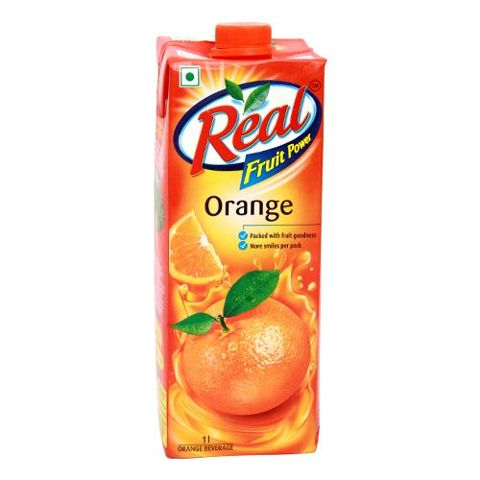Real Fruit Juice - Orange, 1 ltr Carton