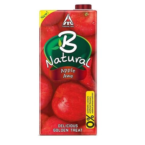 B Natural Juice - Apple Awe, 1 ltr
