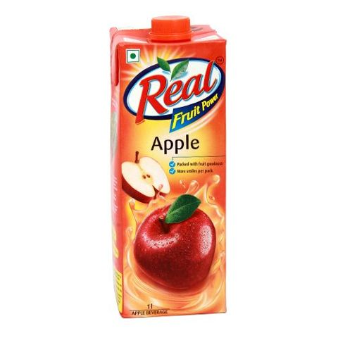 Real Fruit Juice - Apple, 1 ltr Carton