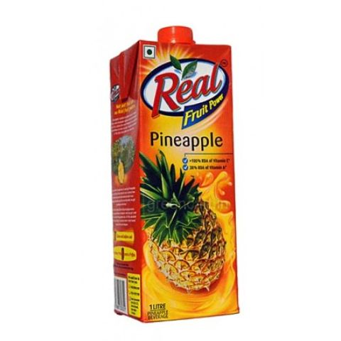 Real Pineapple Juice 1 ltr Carton