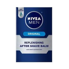 Nivea After Shave Balm - Original Replenishing, 100 ml Carton