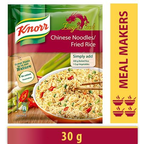 Knorr Chinese - Noodles / Fried Rice, 30 gm Pouch