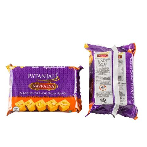 PATANJALI ORANGE SOANPAPDI, 250 gm