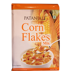 PATANJALI CORN FLAKES MIX, 500 gm