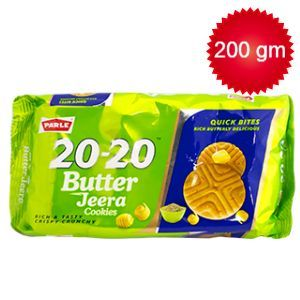 Parle 20-20 Butter Jeera 200 g