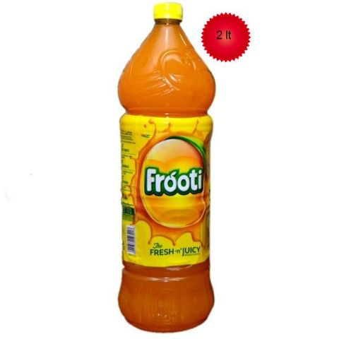 Frooti Drink - Fresh 'N' Juicy Mango, 2 ltr Bottle