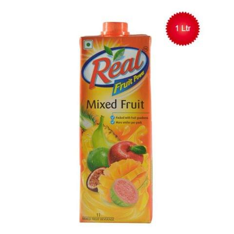 Real Mixed Fruit Juice 1 ltr
