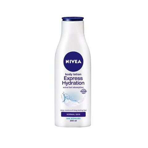 Nivea Express Hydration Body Lotion Normal Skin 200 ml