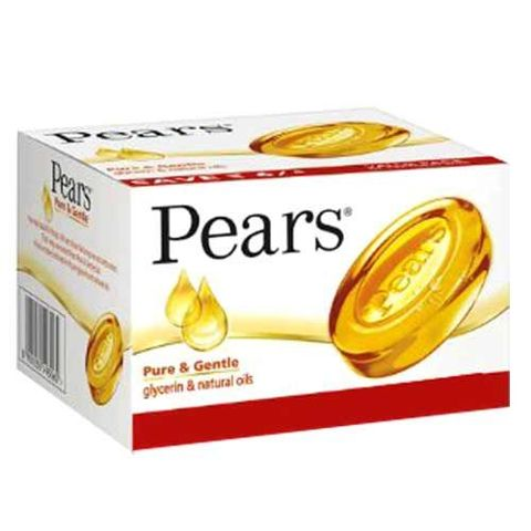 Pears Pure & Gentle Soap 3x125 gm