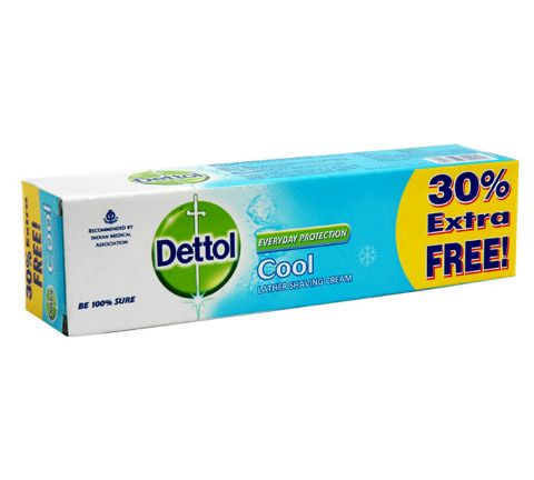 Dettol Shaving Cool Cream, 70gm