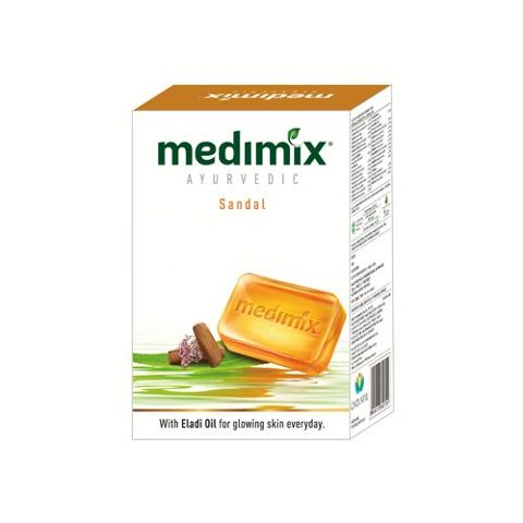 Medimix Bathing Soap - Sandal, 125 gm ( Buy 4 Get 1 Free )