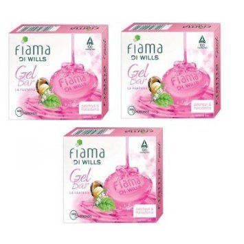 Fiama Di Wills Gel Soap - Patchouli & Macadamia La Fantasia, 125 gm ( Pack of 3 )