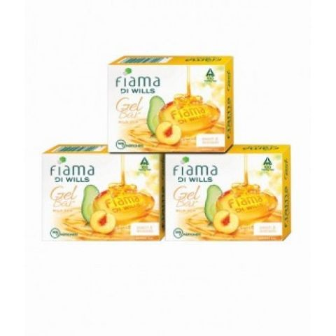 Fiama Di Wills Mild Dew Gel Bar 3x125g