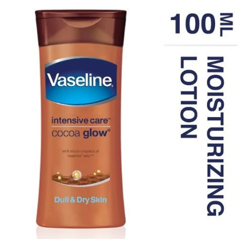 Vaseline Total Moisture Cocoa Glow Body Lotion, 100 ml