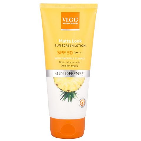 VLCC Matte Look Sun Screen Lotion SPF-30 PA+++ 100g