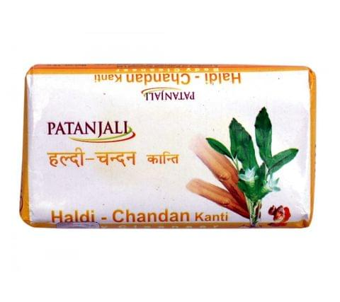 Patanjali Haldi chandan Kanti - Body Cleanser, 150 gm