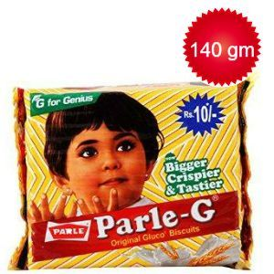 Parle Gluco Biscuits - Parle-G, 140 g Pouch