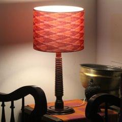 Red IKAT Spotlight Tablelamp