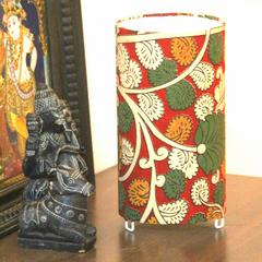 Kalamkari Shortie Circle Table Lamp