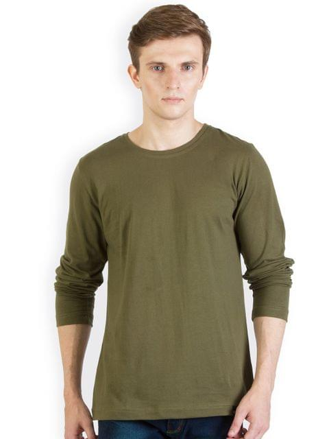 RIGO Solid Army Green Slim fit T shirt