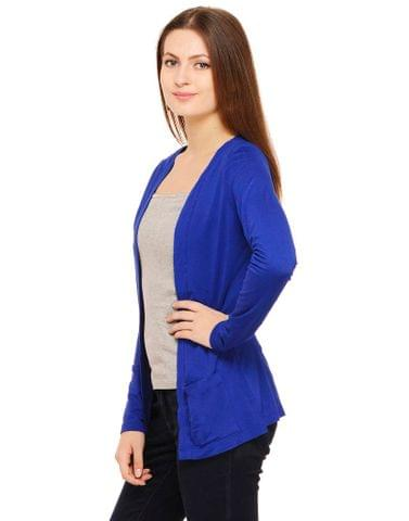 Rigo Royal Blue Winter Shrug