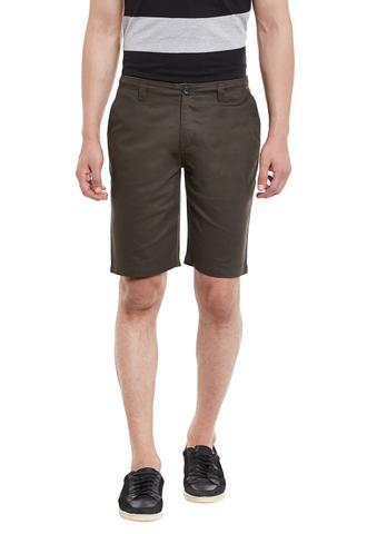 RIGO Army Green Slim Fit 4 Pocket Short