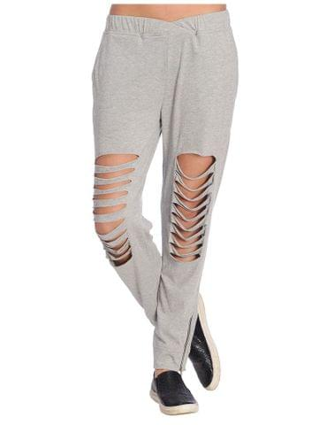 Rigo Grey Distressed Jogger