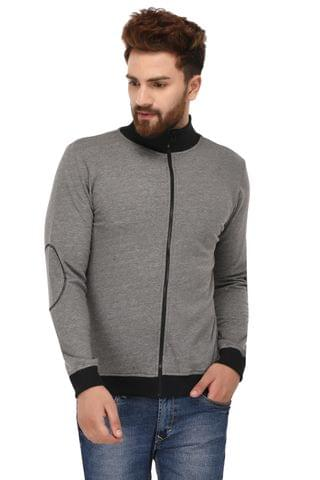 Rigo Grey Cotton Sweatshirt for Men
