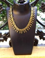 Oxidised Metal Kolhapuri Necklace- Pattern 11