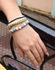 Stretchable Multicolored Handmade Multilayer Bracelet