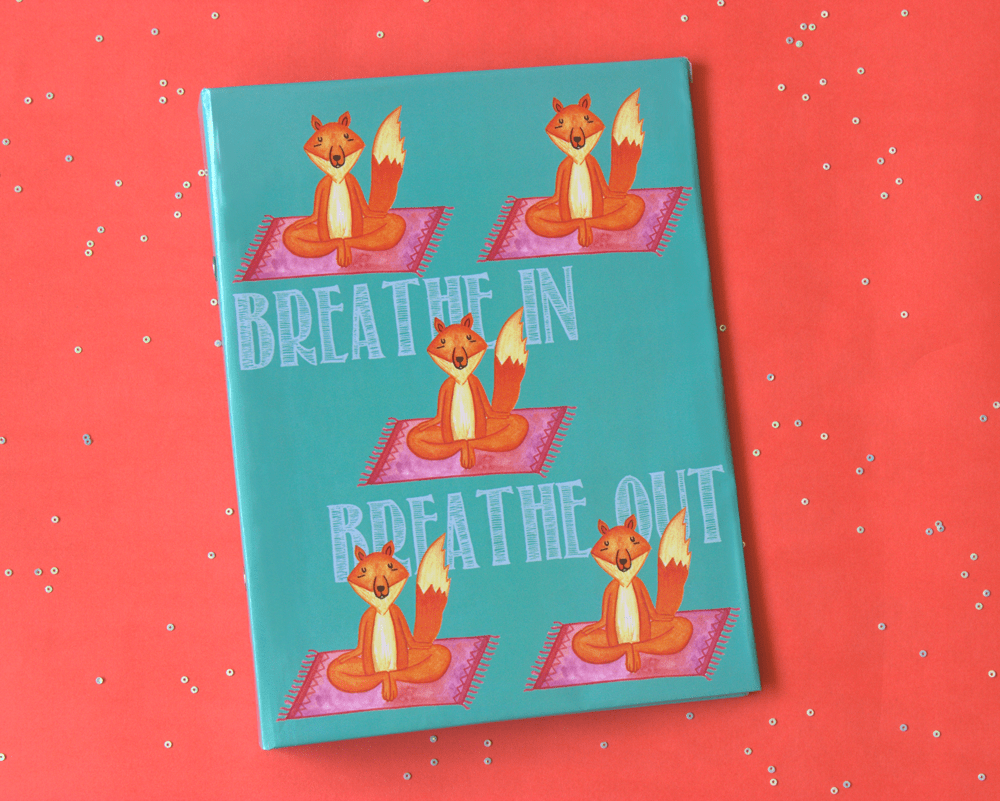 Yogi Fox mini folder notebook