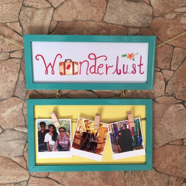 Wanderlust Photo Hangy