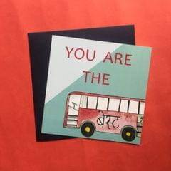 You are the Best' card