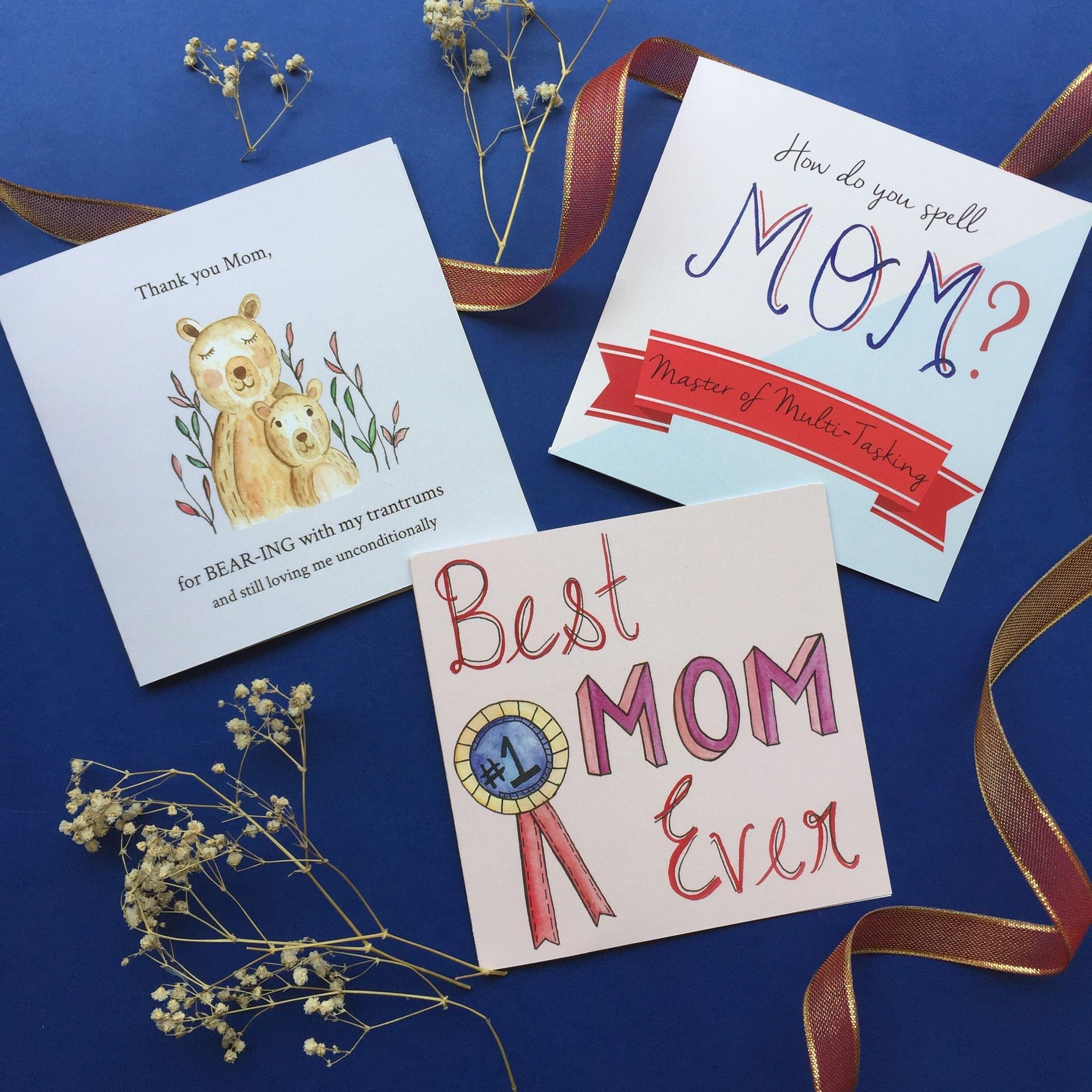 Cards for you Mom: Set of 3