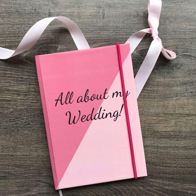 All about my Wedding Rubberband Journal