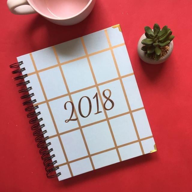 2018 Annual Planner: Checkmate