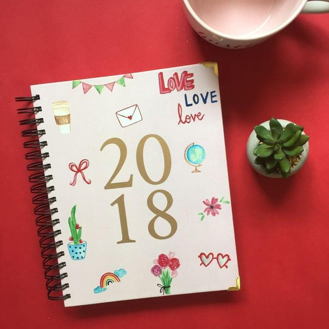2018 Annual Planner: Endless Love