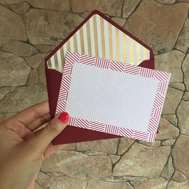 Lines Notecard set