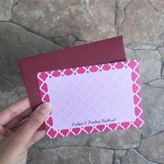 Morrocan Notecard set
