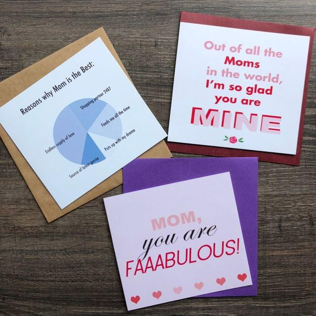 Mother's Day Cards-Set of 3