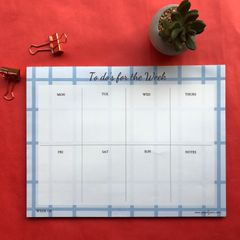Checkmate Weekly Planner