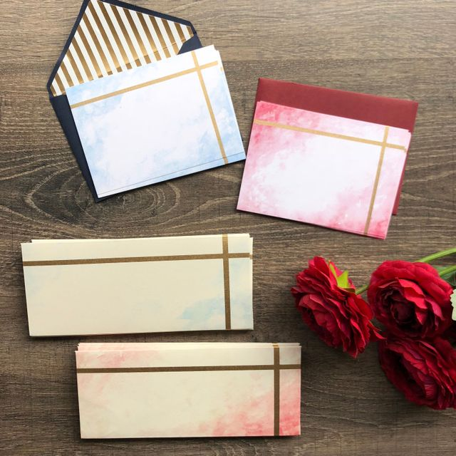 Watercolour Stationery Set