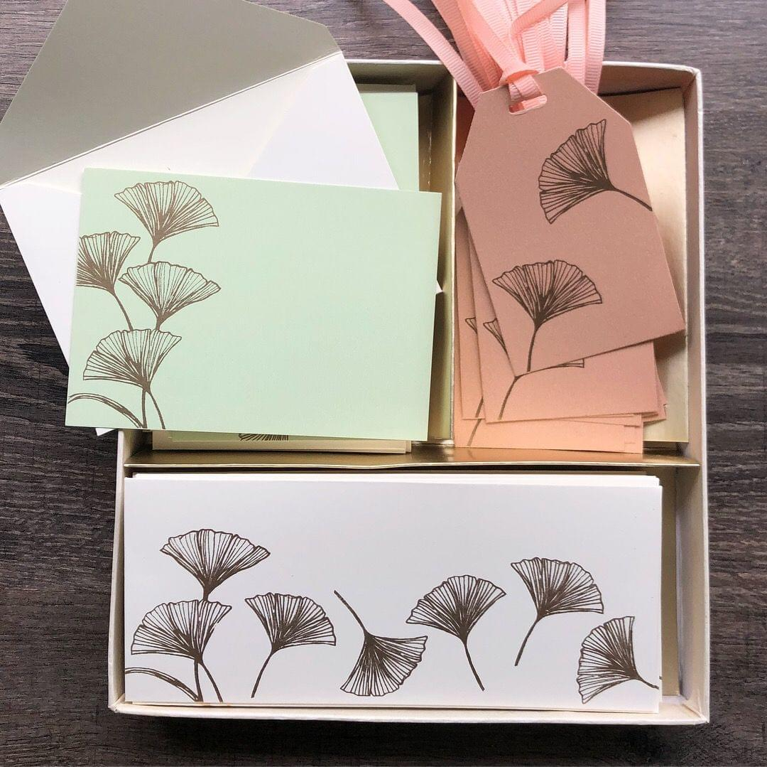 Ginko Stationery Set